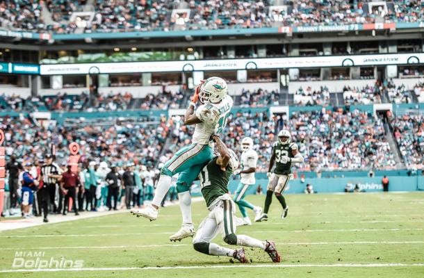 EyeGym client, Kenny Stills scores 36 yard touchdown